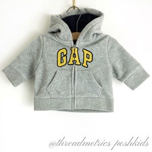 BABY GAP • Fleece Logo Sweatshirt